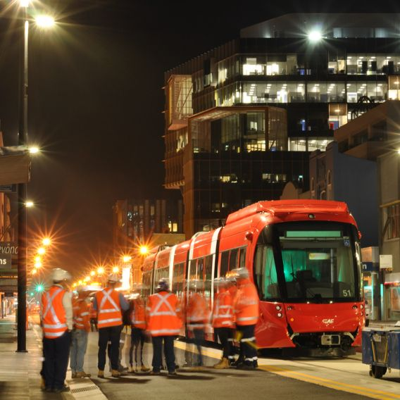 Newcastle-interchange